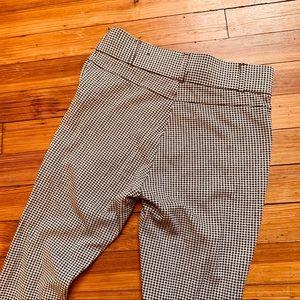 Zara Pants - Zara Trafuluc high waist stretch pants gingham. M